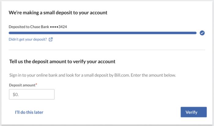 RTP bank verification