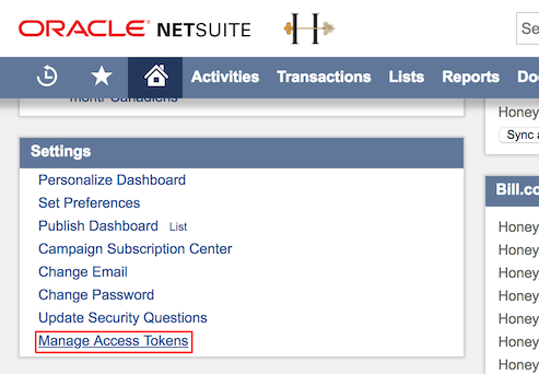 Update NetSuite sync connection to Token-Based