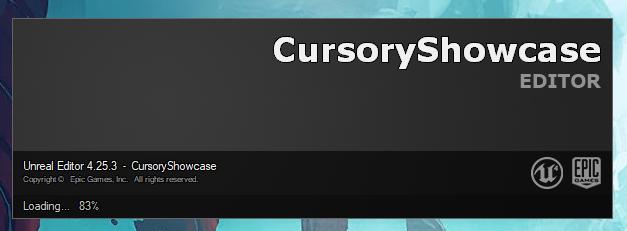 CursoryShowcase loading
