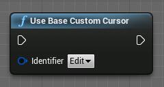 UseBaseCustomCursor node