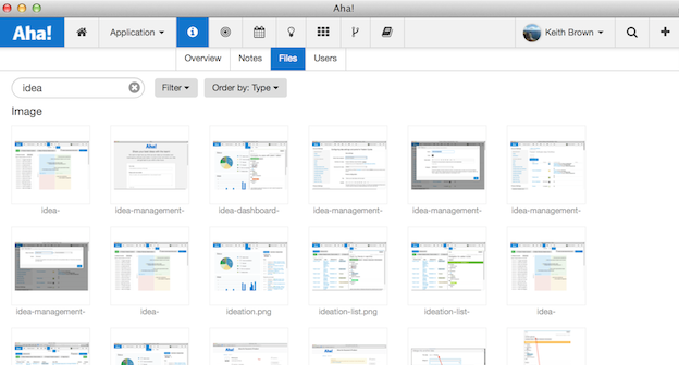 Store All of Your Product Roadmap Files, Mockups, and Images in Aha!