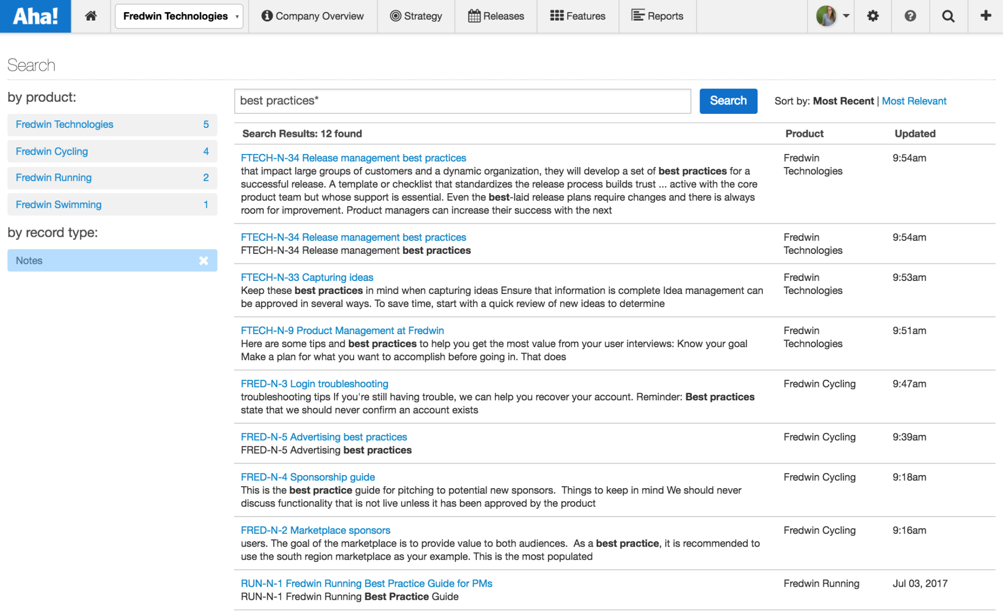 Blog - Just Launched! — The Search Engine for Product Managers - inline image