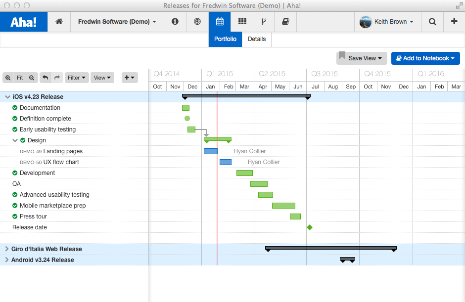 Blog - New in Aha! — Visualize Your Release and Feature Schedules - inline image
