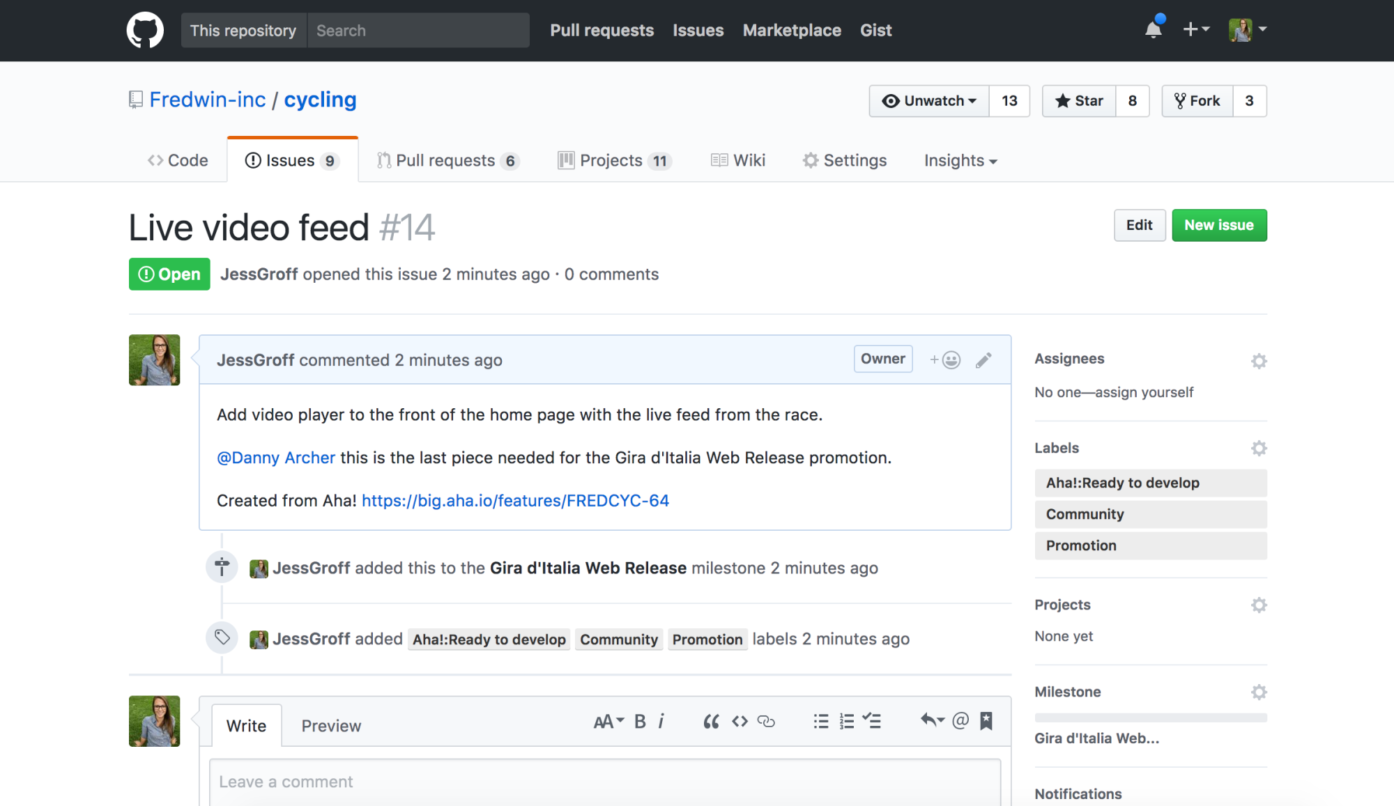 Blog - Just Launched! — Enhanced Aha! + GitHub Integration - inline image