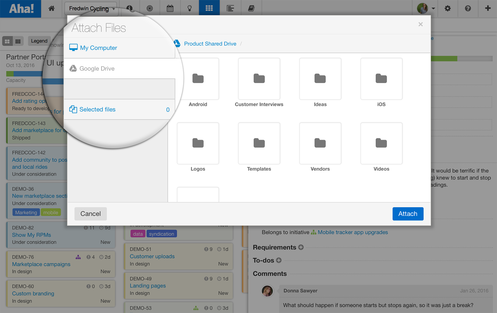 Blog - Just Launched! — Enhanced Google Drive and Dropbox Integrations - inline image