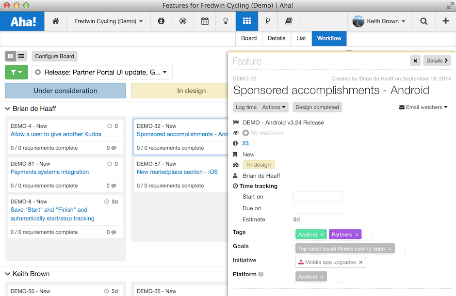 Blog - Aha! Launches New Kanban Board for Agile Product Teams - inline image