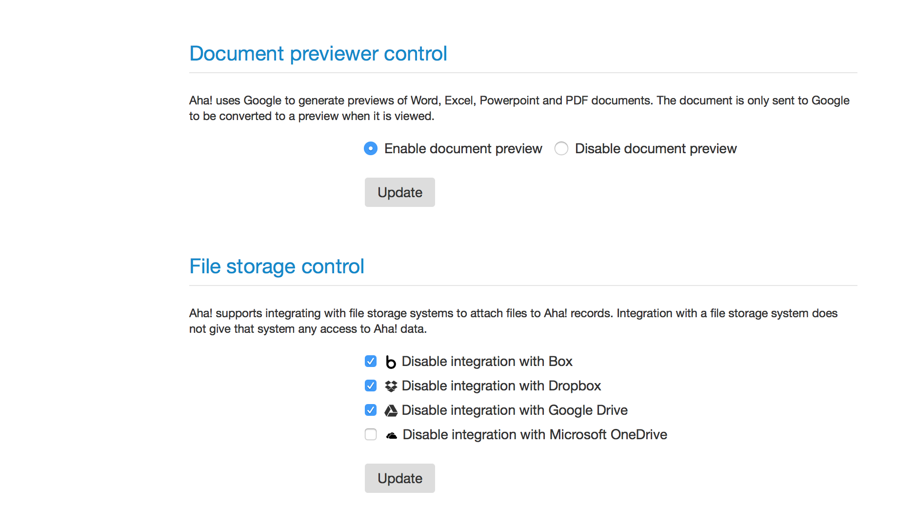 Blog - Just Launched! — Aha! Now Integrated With Microsoft OneDrive - inline image