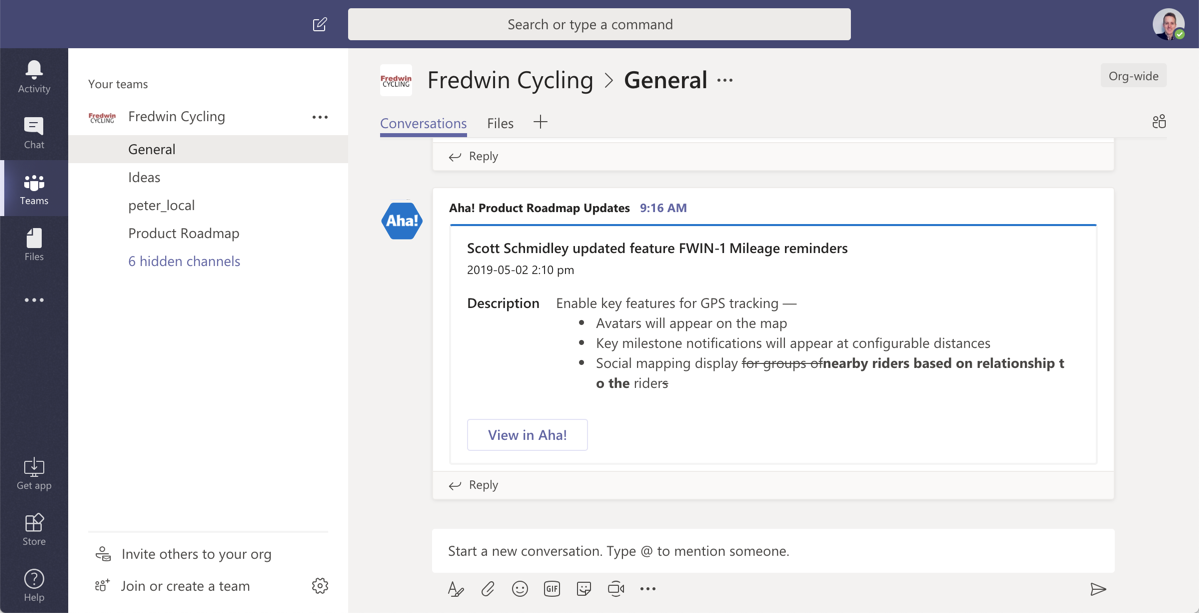 Support - Integrate with Microsoft Teams - inline image