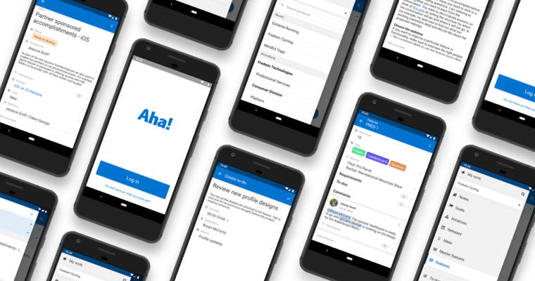 Just Launched! — Aha! Mobile Now Available for Android™