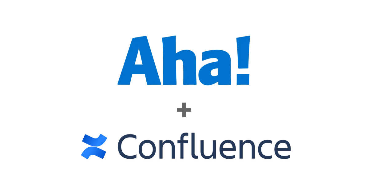 Just Launched! — Aha! + Confluence Data Center Integration