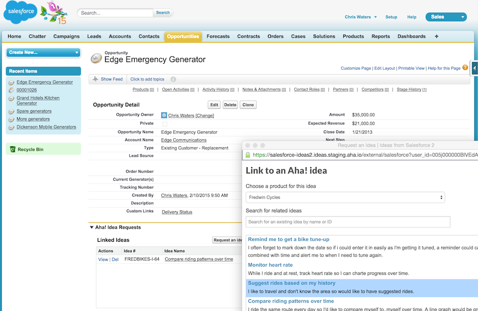 Blog - Salesforce + Aha! = Build What Customers Really Want and Sell More of It - inline image