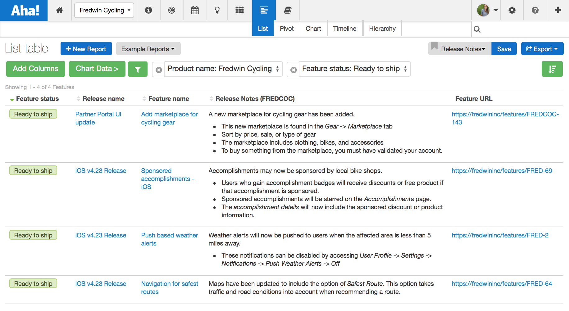 Blog - Those Pesky Release Notes and Product Management - inline image
