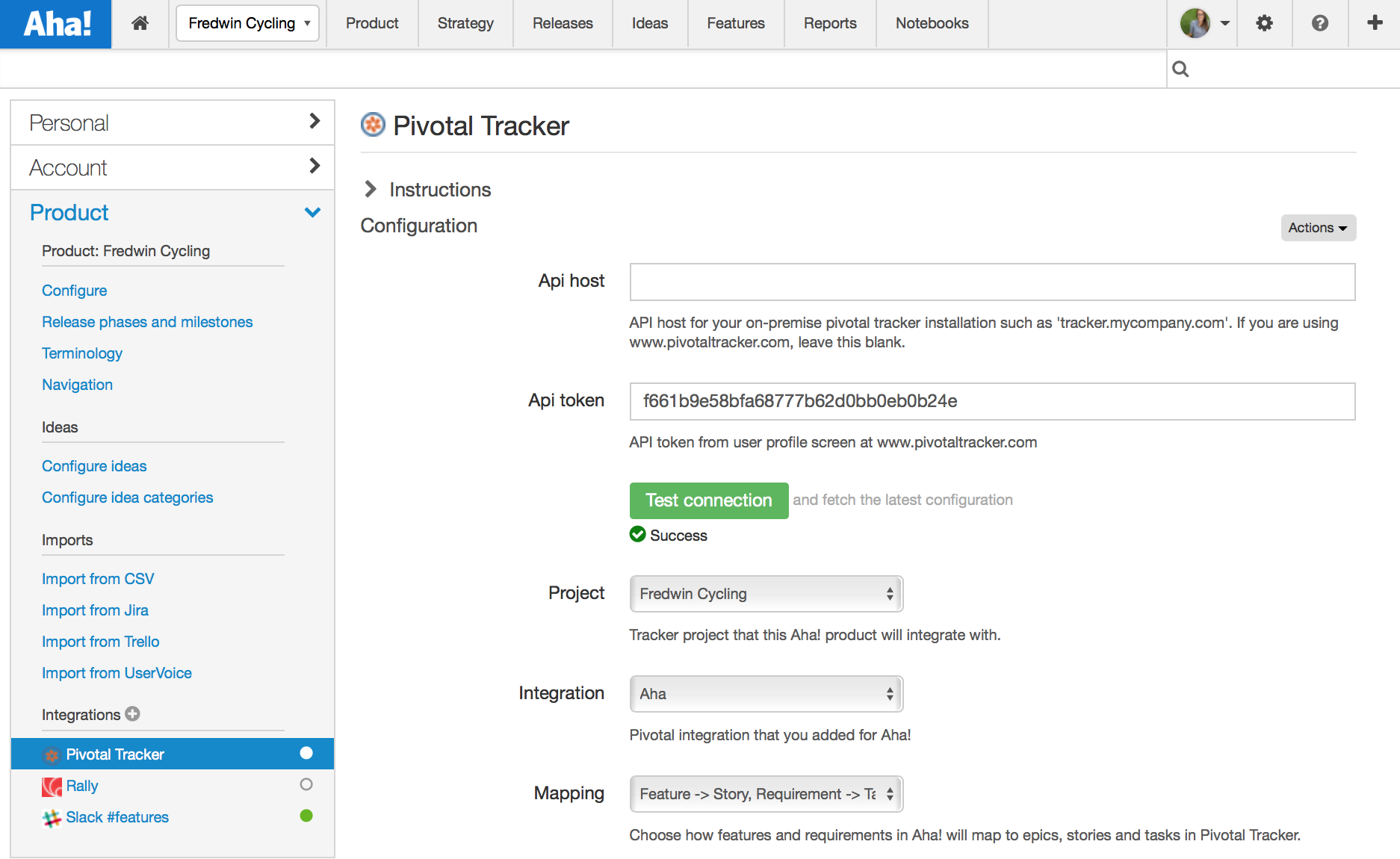Blog - Aha! Integrated With Pivotal Tracker for Visual Product Roadmaps - inline image