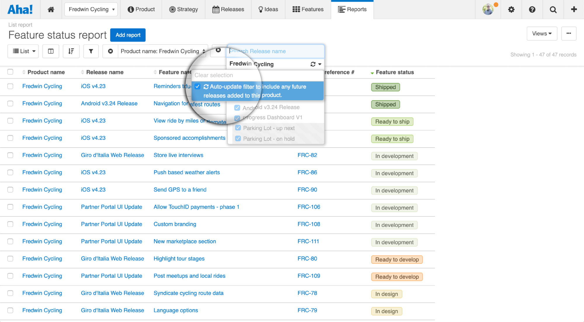 Blog - Just Launched! — Auto-Update Filters on Your Product Reports - inline image