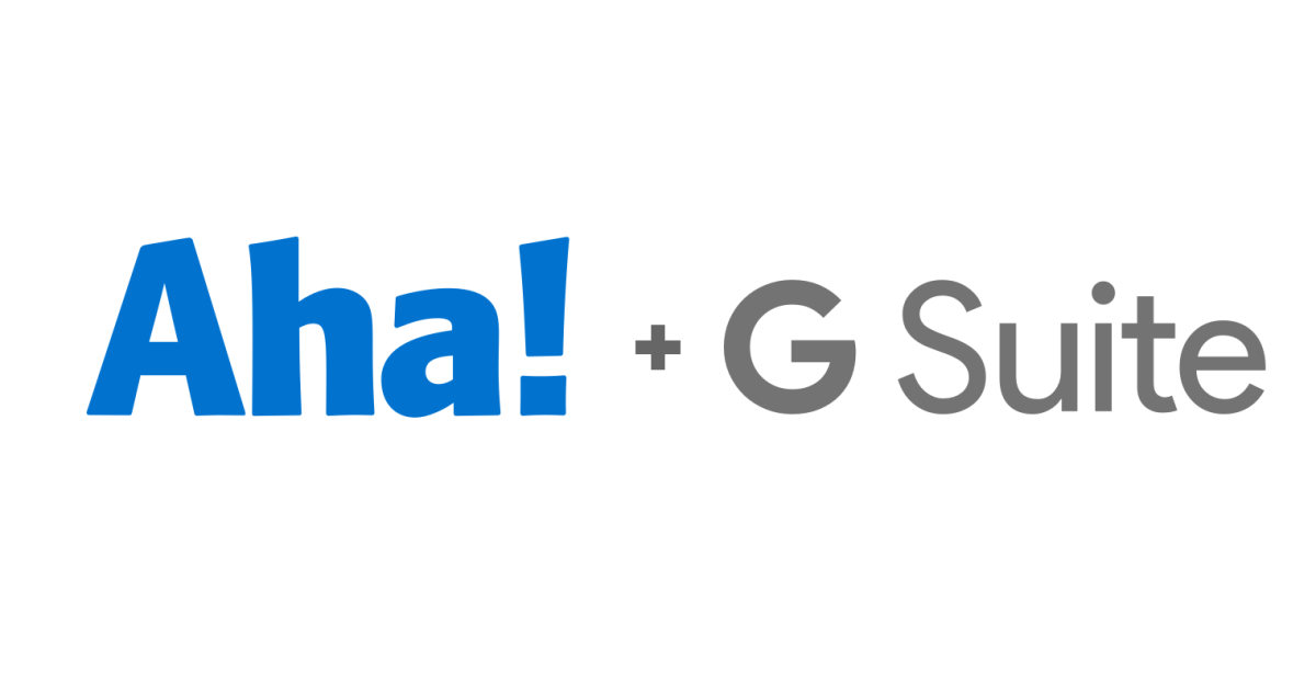 Just Launched! — Access Aha! Ideas Portals With G Suite Single Sign-On