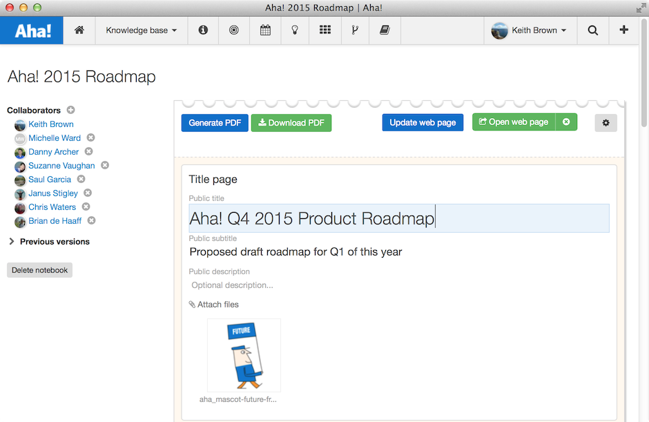 Blog - Securely Share Your Visual Product Roadmap - inline image