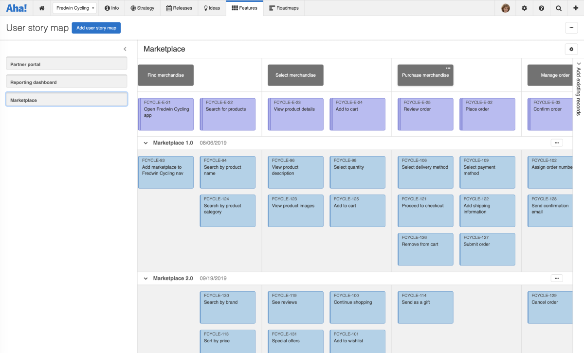 Just Launched! — New User Story Mapping Tool in Aha!