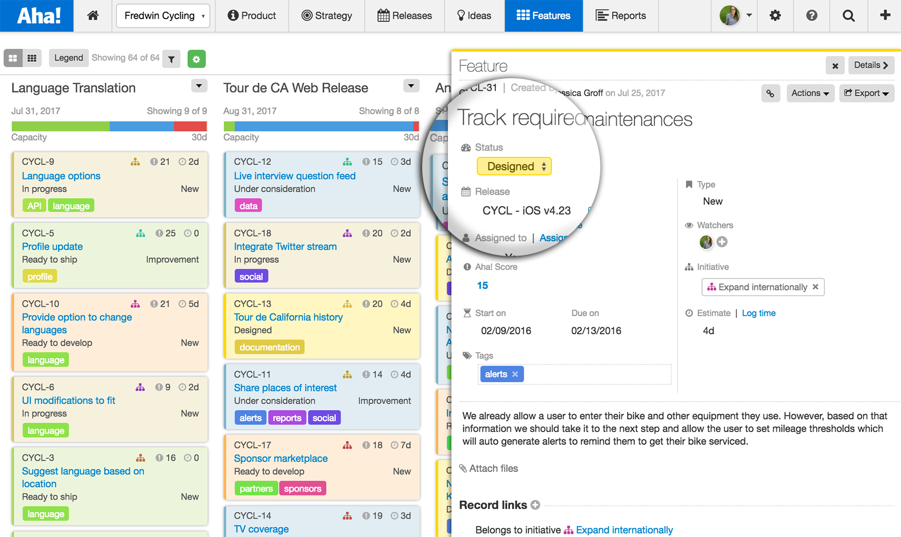 Blog - Just Launched! — Manage Your Product Backlog With an Agile Board - inline image