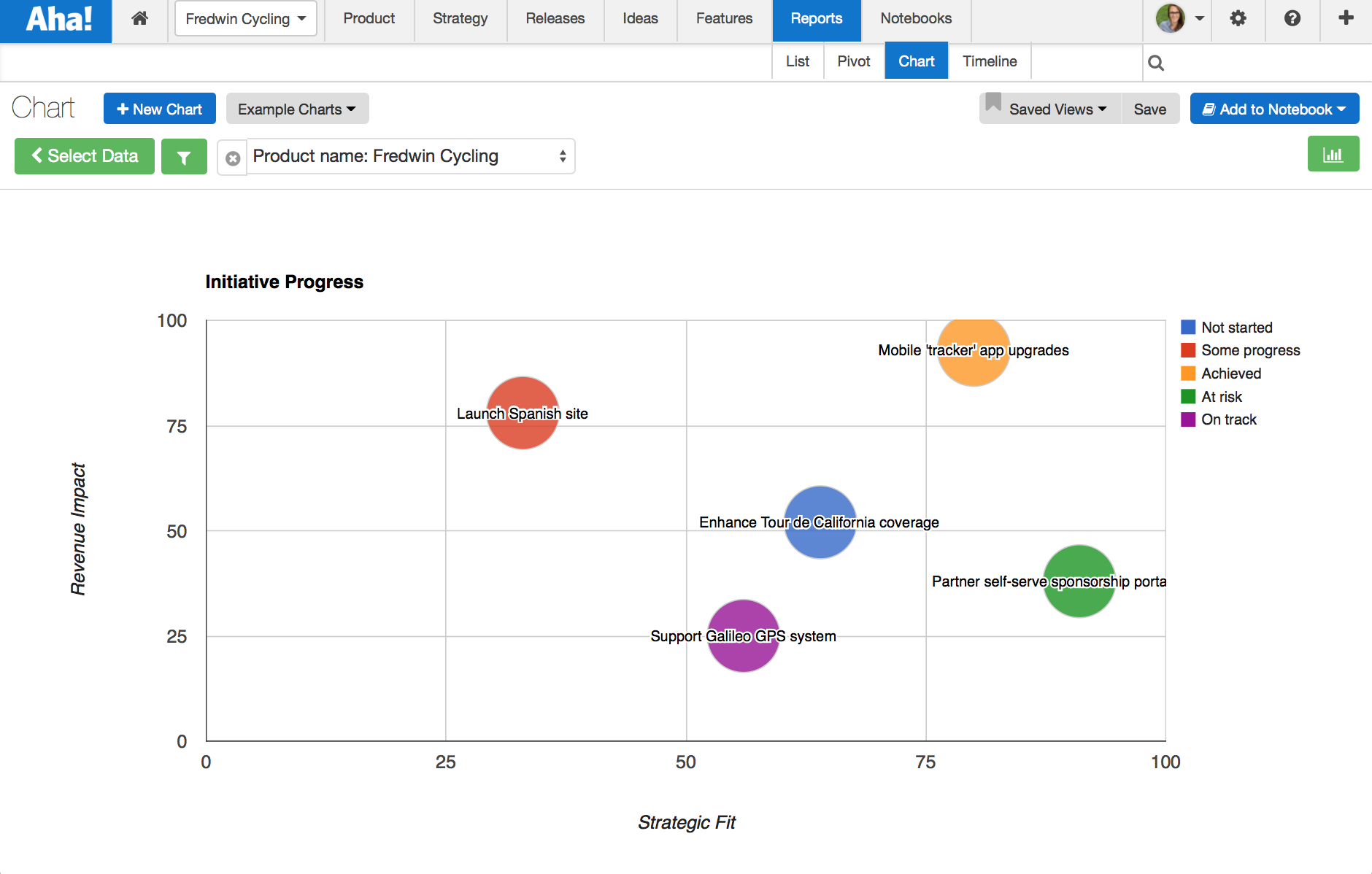 Blog - Just Launched! — Visualize Strategic Goals and Initiatives With Custom Charts - inline image