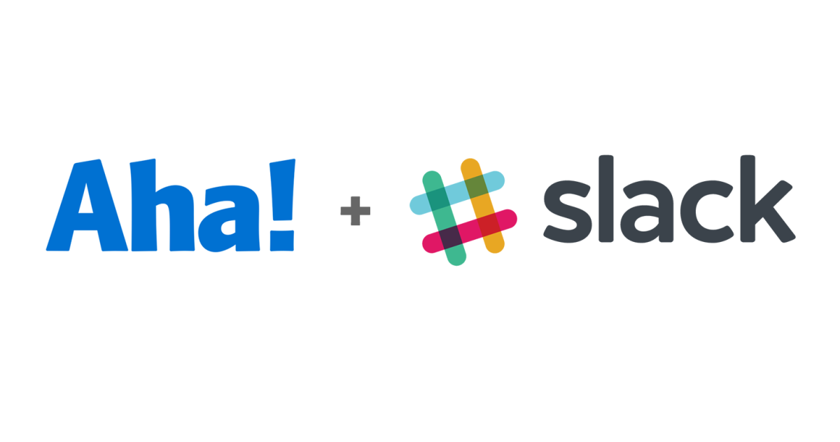 Just Launched! — New Aha! + Slack Integration for Product Management