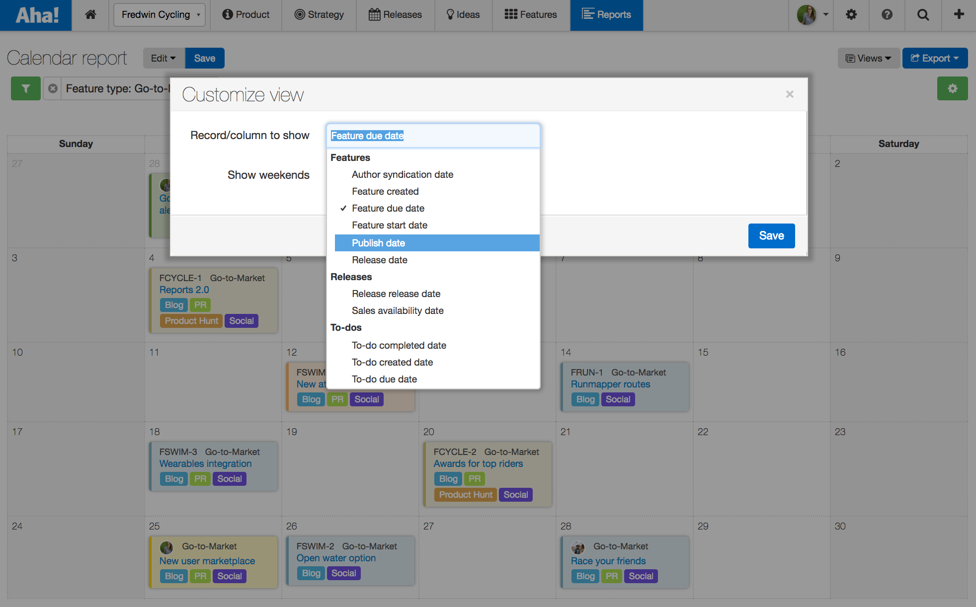 Blog - Just Launched! — Visual Calendar Report for Product Marketing - inline image