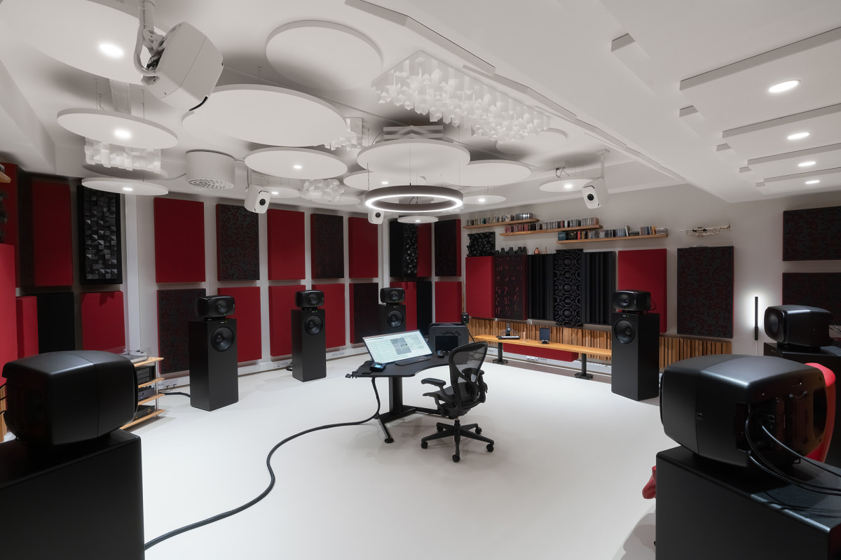Genelec 'The Ones' power Morten Lindberg's stunning immersive studio