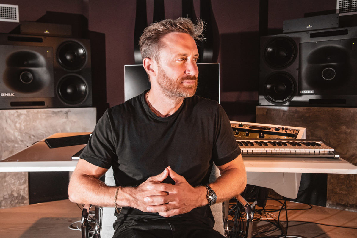 Genelec provides David Guetta with his 'perfect setup'