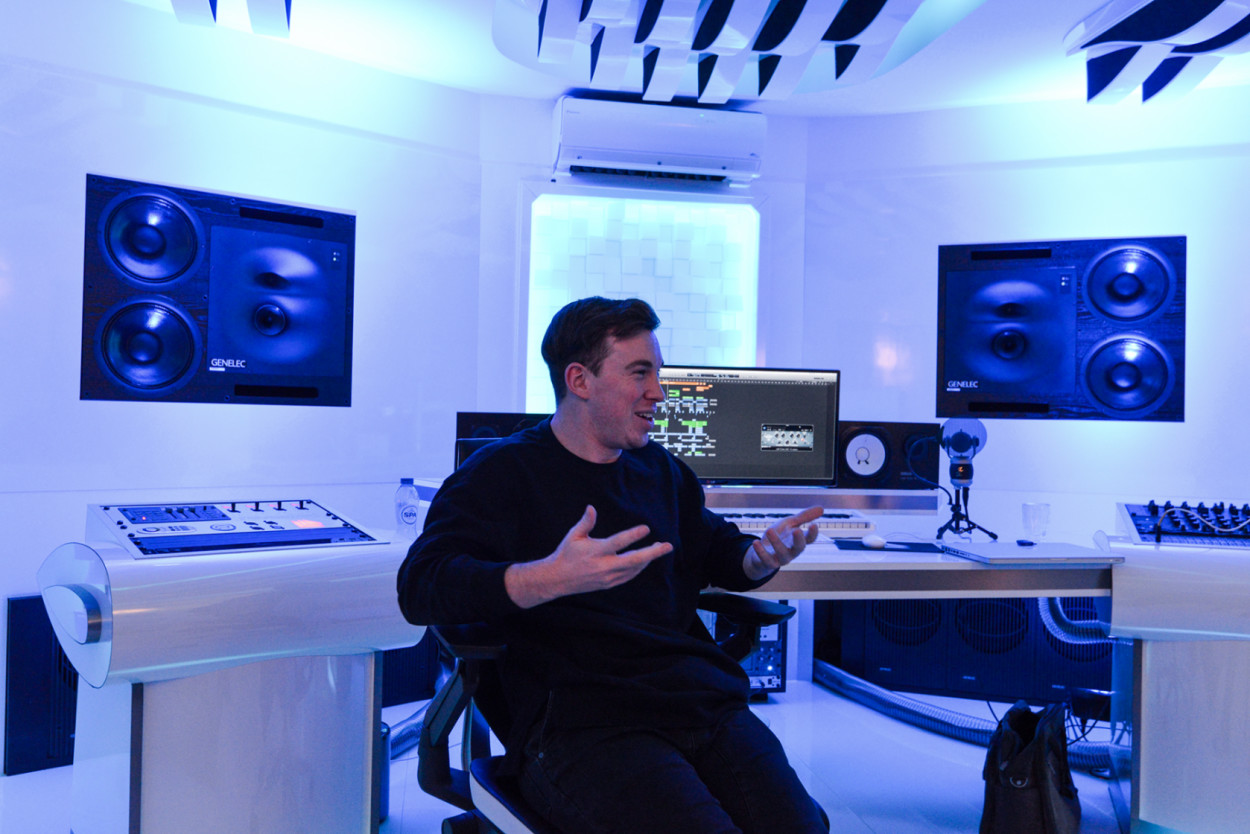 Hardwell at the Studio