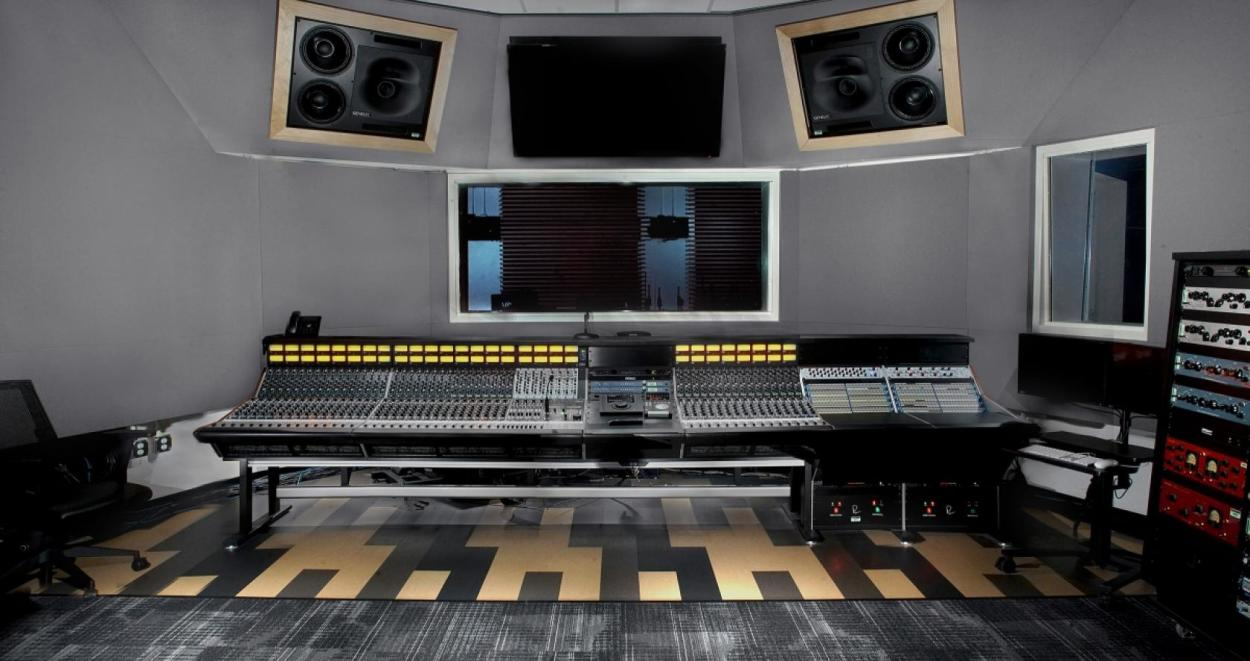 Dolby® Atmos™-certified studio at Valencia College in Orlando, Florida.