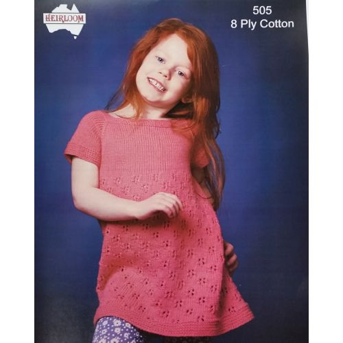 3a273961ee467 Heirloom Cotton 8 ply dress leaflet 505