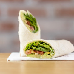 HK001846 Avocado and Roasted Pine Nuts Wrap