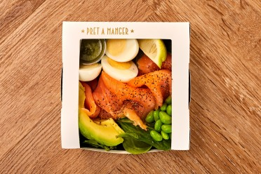 UK007304 Smoked Salmon Protein Box