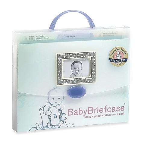 BabyBriefcase: Baby Paperwork Organizer - $29.99