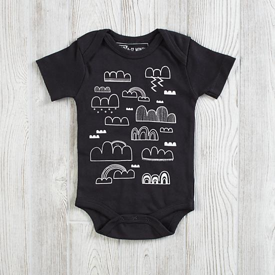 Clouds Onesie by Earth Cadets - $25.00