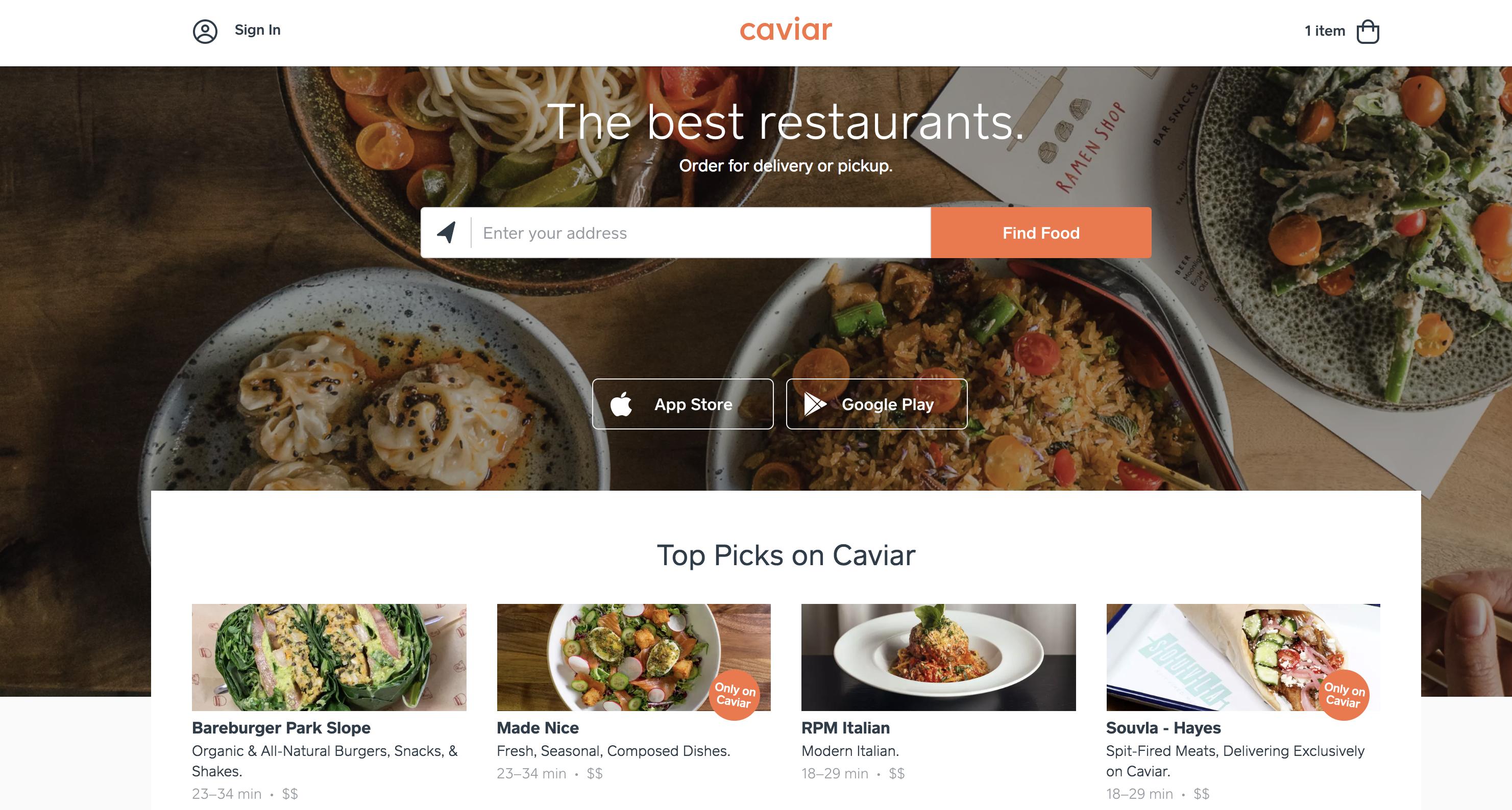 Caviar - $Varies