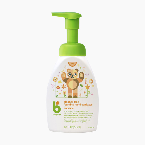 Babyganics Alcohol-Free Foaming Hand Sanitizer - Fragrance Free, 8 45 oz