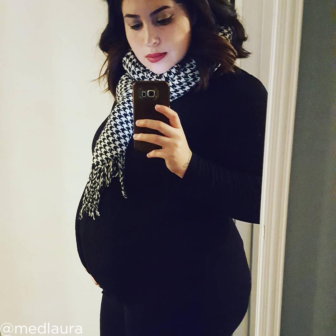 27 weeks pregnant baby @medlaura
