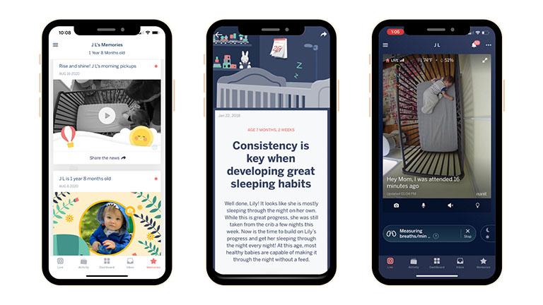 Nanit Sleep Insight Screenshot