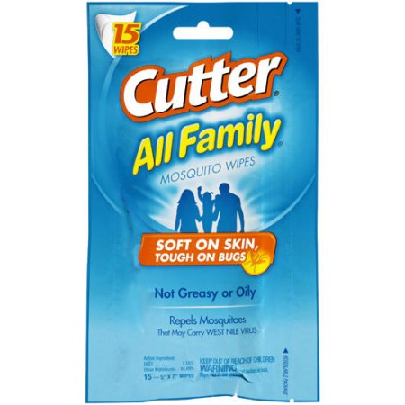 Cutter AllFamily Wipes - $3.97