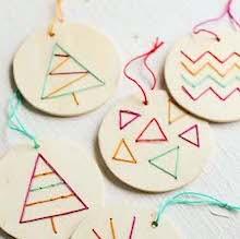 Stitched Ornaments