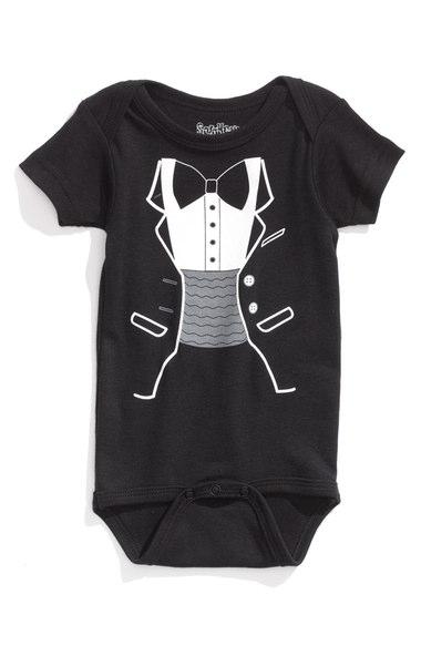 Graphic Bodysuit (Tux) - $20.00
