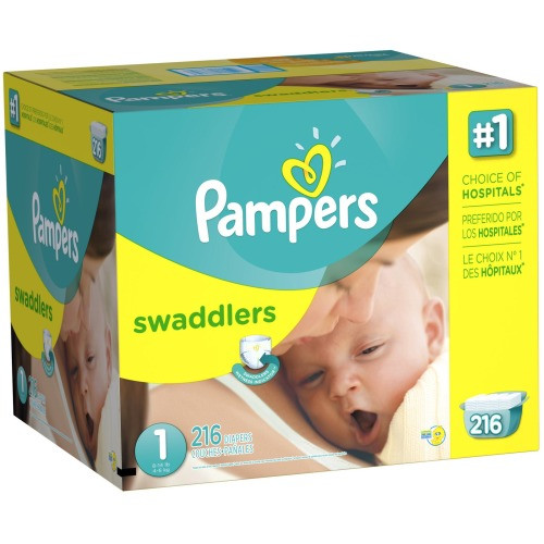 Pampers Swaddlers Diapers - $24.69