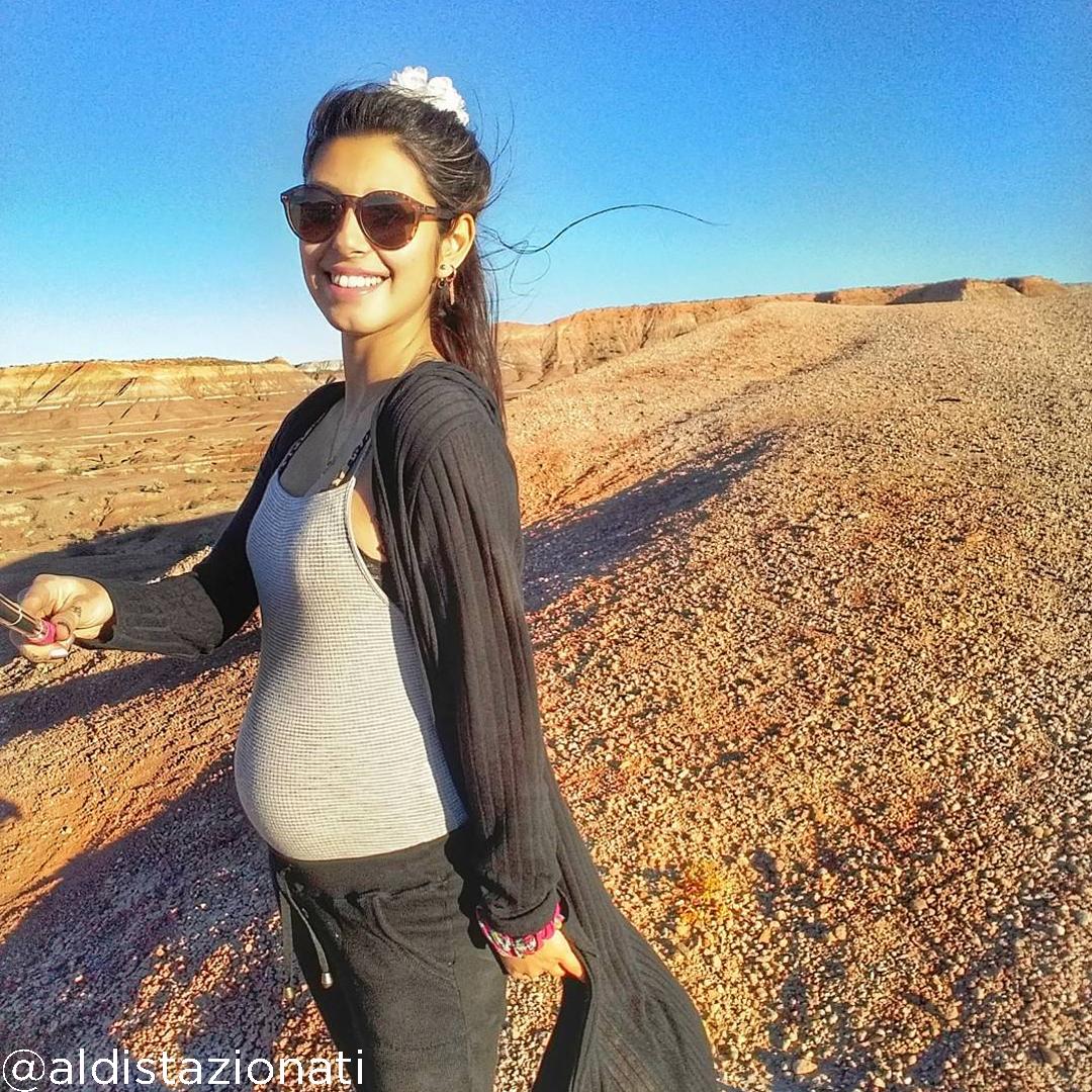 22 weeks pregnant bump @aldistazionati