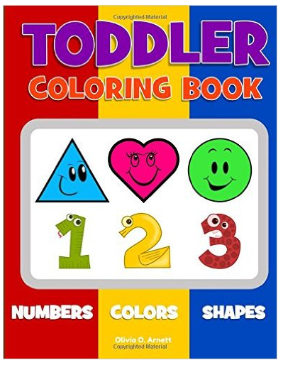 Toddler Coloring Book - $6.99
