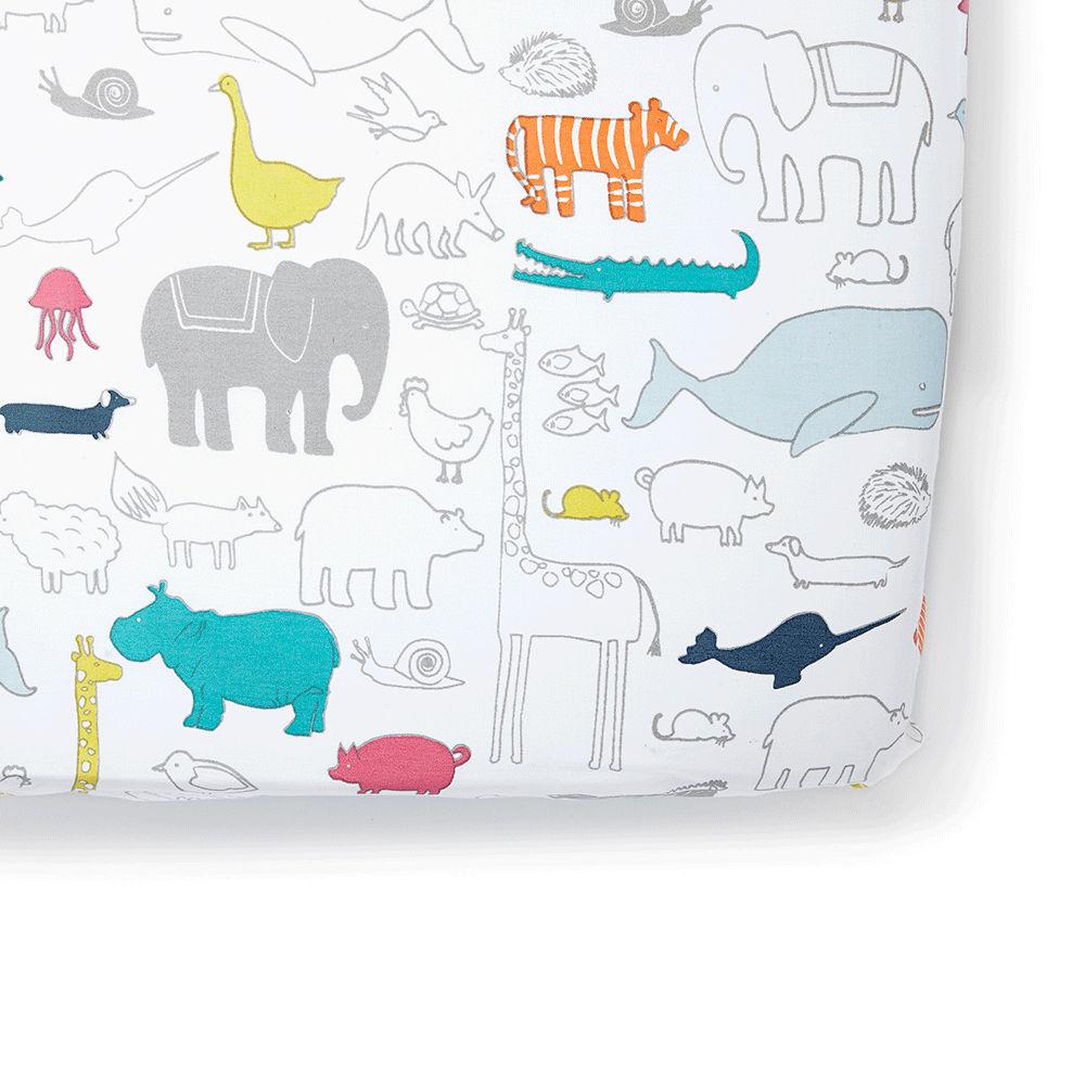 Petit Pehr Noah Ark Crib Sheet - $36.00