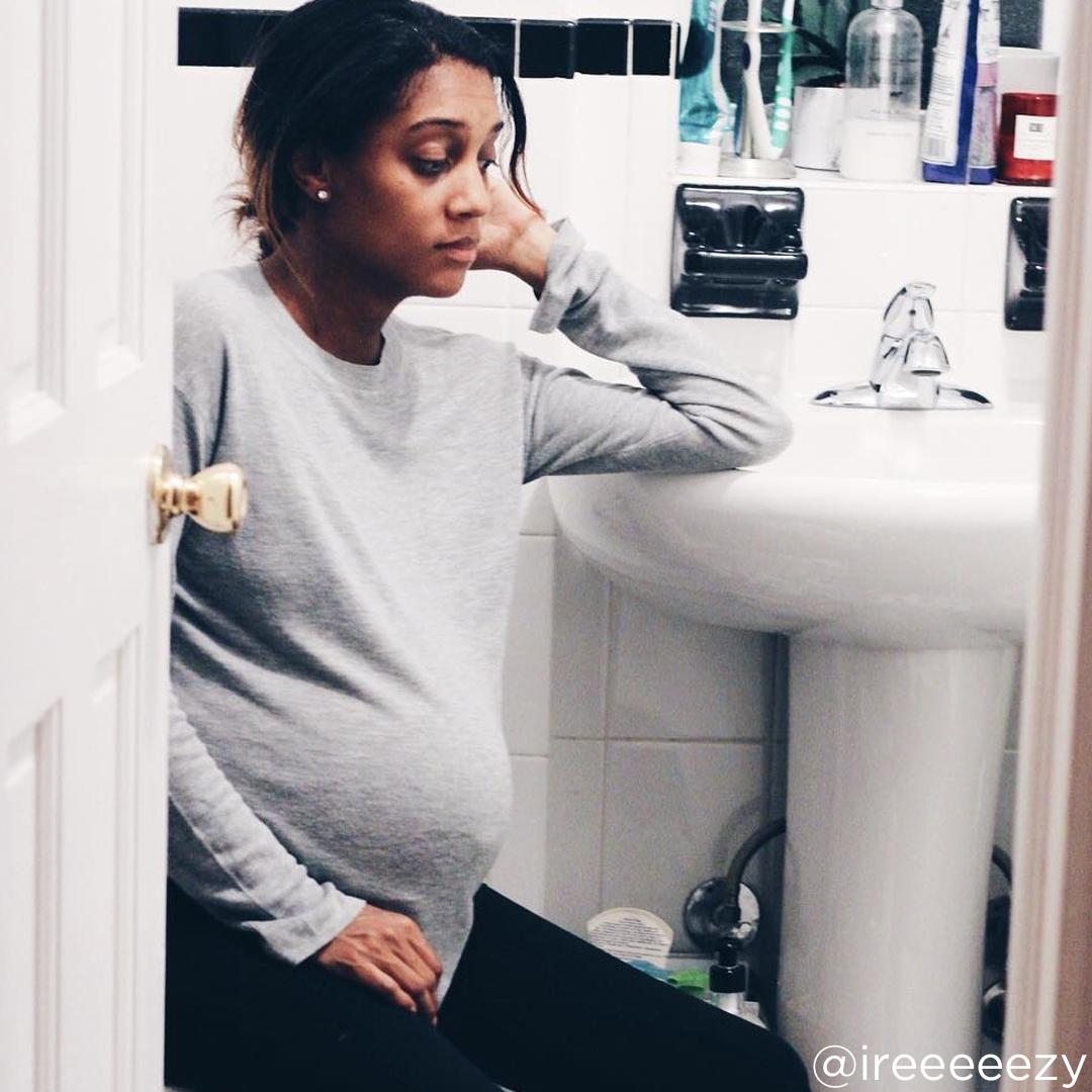 38 weeks pregnant nausea @ireeeeezy
