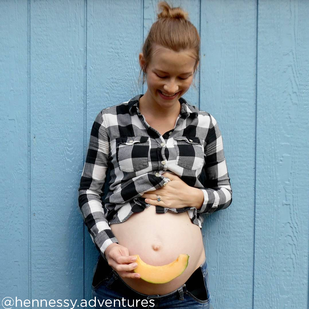 24 weeks pregnant pictures @hennessy.adventures