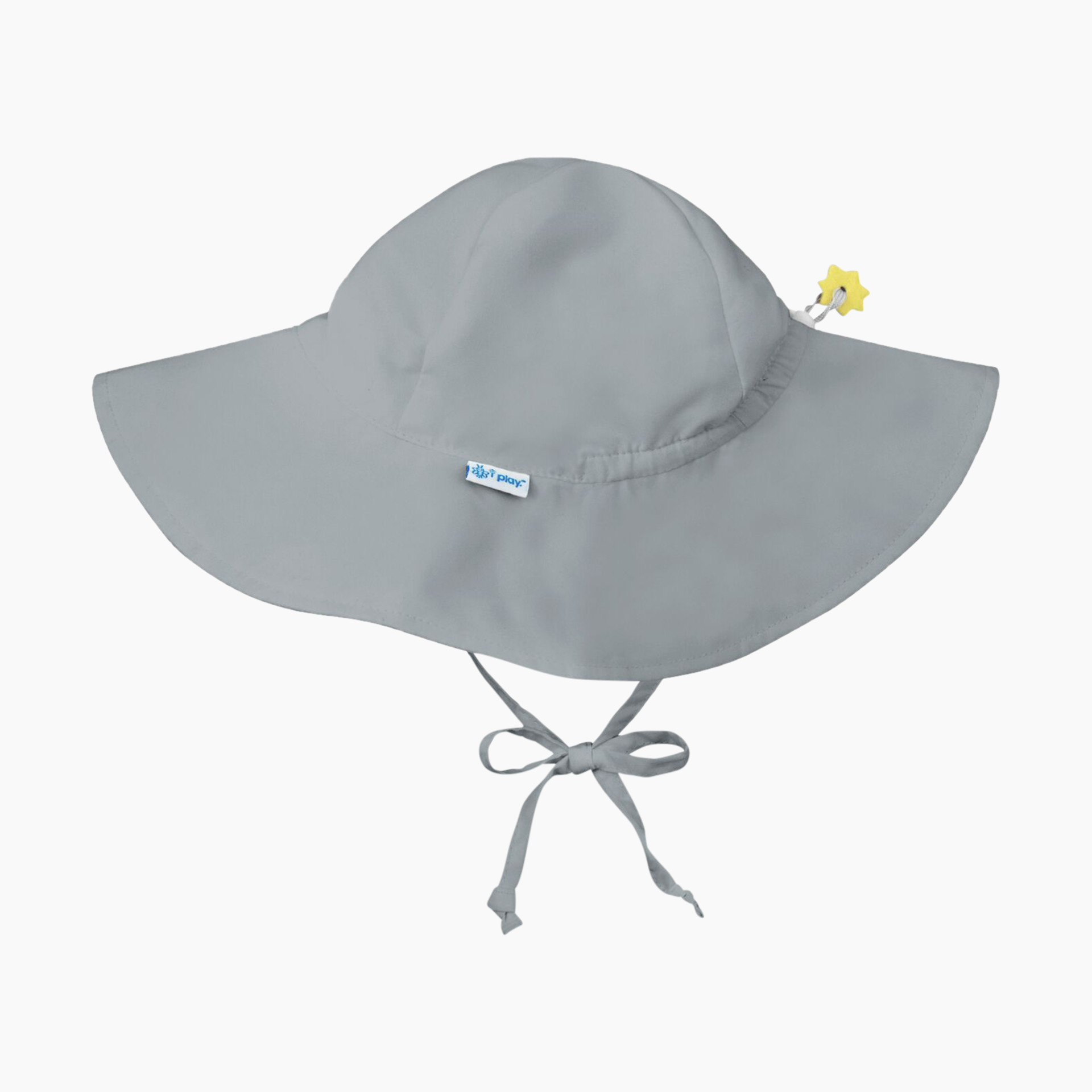 593259020 i play Brim Sun Protection Hat - Grey, 0-6 Months