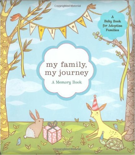 My Family, My Journey: A Baby Book for Adoptive Families  - $9.83