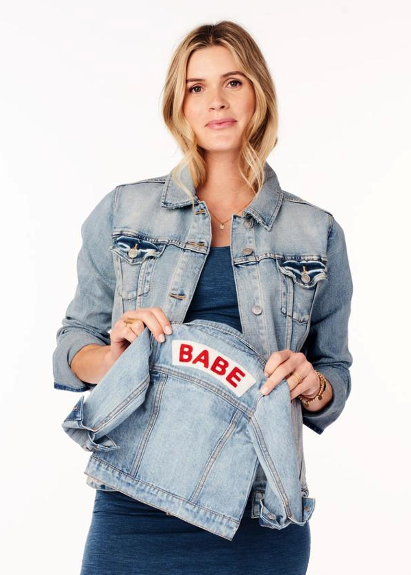 Ingrid & Isabel Babe Denim Jacket - $68.00